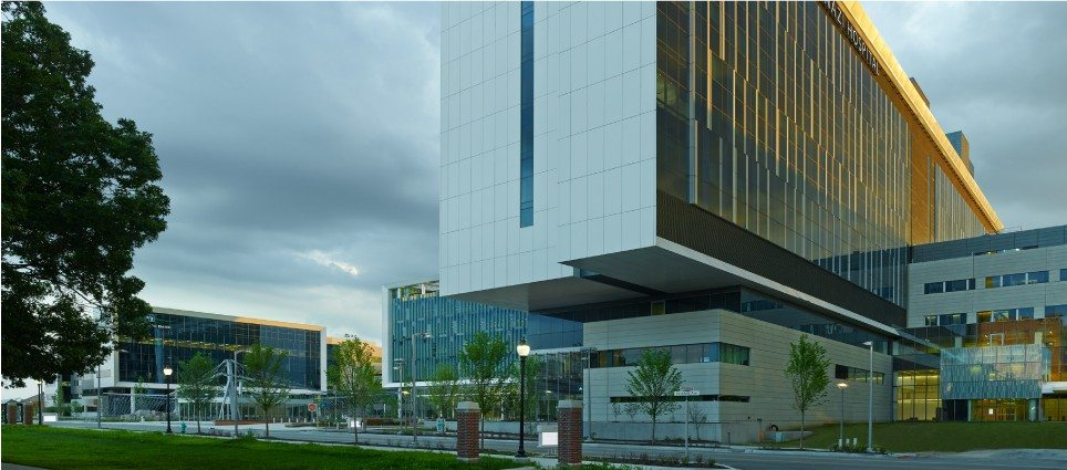 Sidney & Lois Eskenazi Hospital and Eskenazi Health Campus, Indianapolis, IN | Syska Hennessy Group