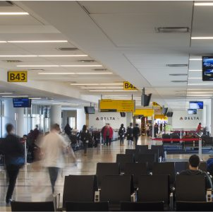 Delta Air Lines, JFK Terminal 4 Concourse B, Jamaica Queens, NY
