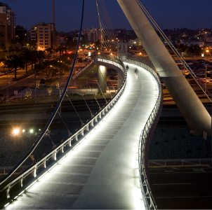 Harbor Drive Pedestrian Bridge, San Diego, CA