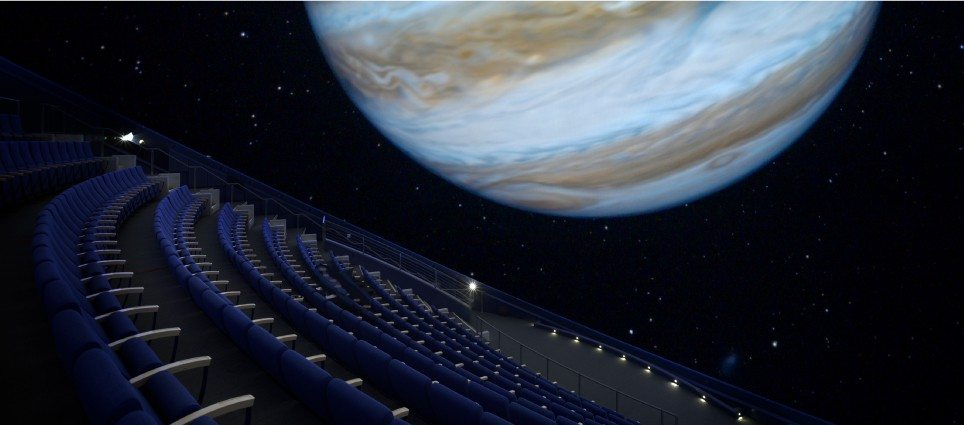 California Academy Of Sciences Planetarium Aquarium