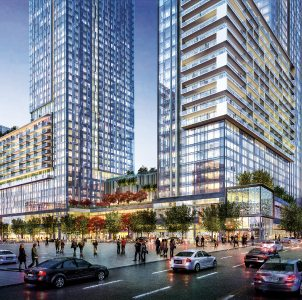Metropolis, A New, Mixed-Use Development, Los Angeles, CA