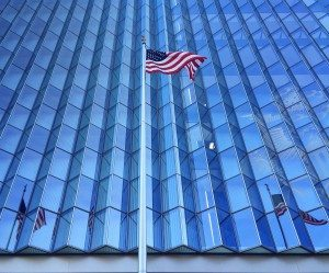 LA Federal Courthouse--Exterior Glass Panels