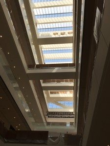 LA Federal Courthouse -- Interior Skylight