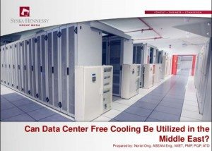 Can Data Center Free Cooling Be Utilized in the Middle East?