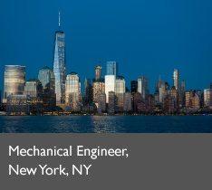 Mechanical Engineer, New York, NY