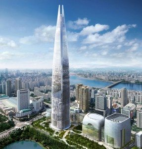 Lotte World Tower, Seoul Named World's Fifth Tallest Building
