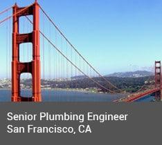 Senior Plumbing Engineer (Mechanical Engineer), San Francisco, CA